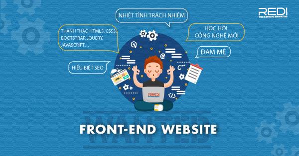 Tuyển dụng vị trí lập trình viên Frontend Website