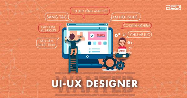 Tuyển dụng vị trí nhân viên thiết kế layout website ui ux designer