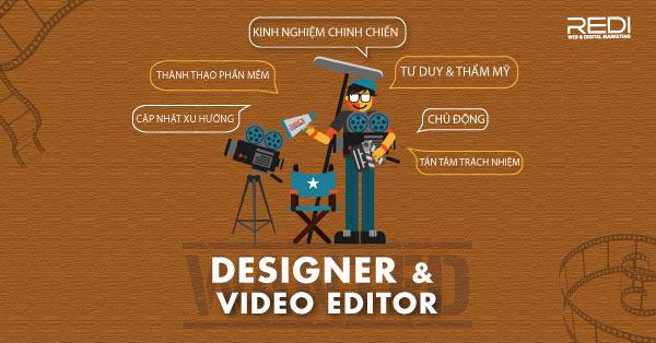 Tuyển dụng nhân viên dựng phim Video Editor