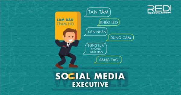 Tuyển dụng vị trí Chuyên viên Social Media