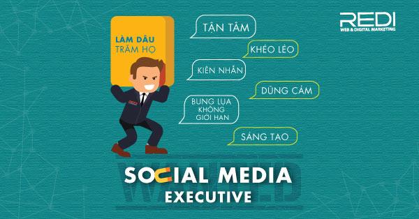 Tuyển dụng vị trí chuyên viên socia media