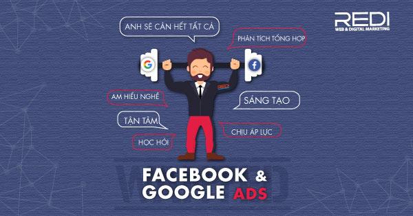 Tuyển dụng vị trí Chuyên viên quảng cáo Google – Facebook