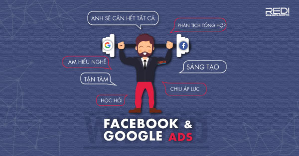 Tuyển dụng vị trí chuyên viên quảng cáo Google Facebook