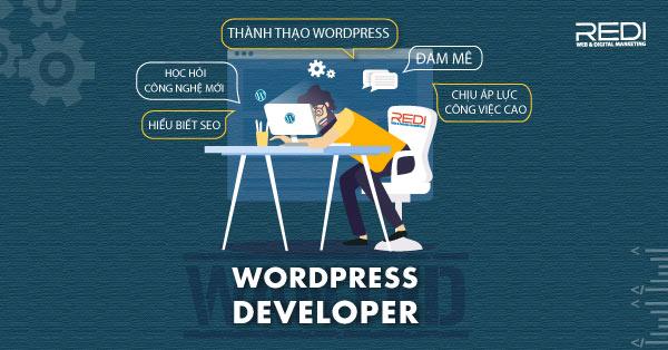 Tuyển dụng vị trí lập trình viên WordPress developer