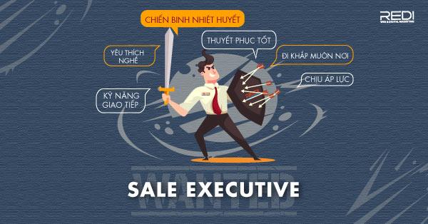 Tuyển dụng vị trí sale executive nhân viên kinh doanh