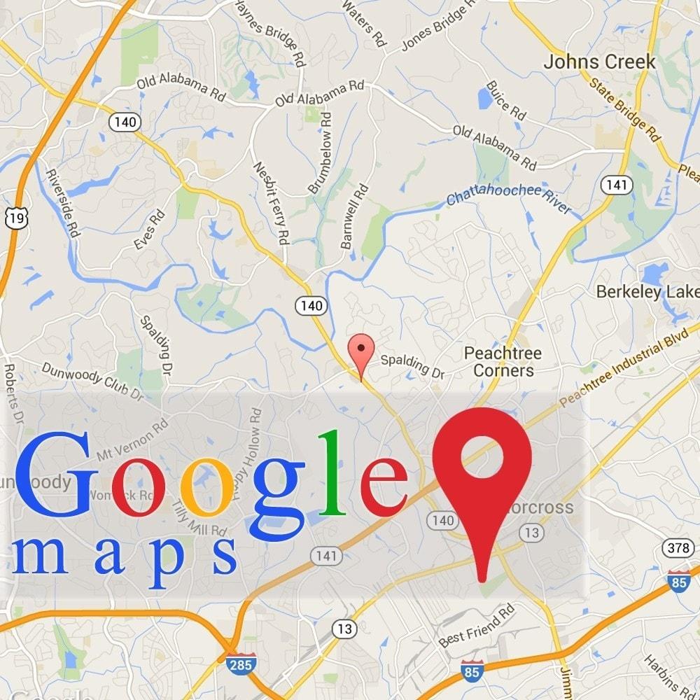 Hướng dẫn tích hợp Google Maps vào Website