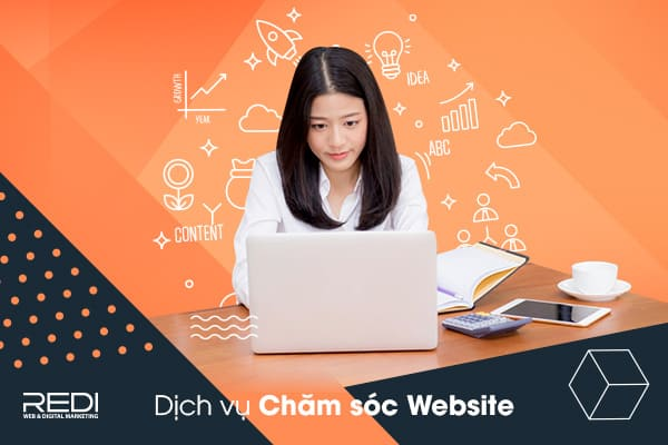 dich vu cham soc website