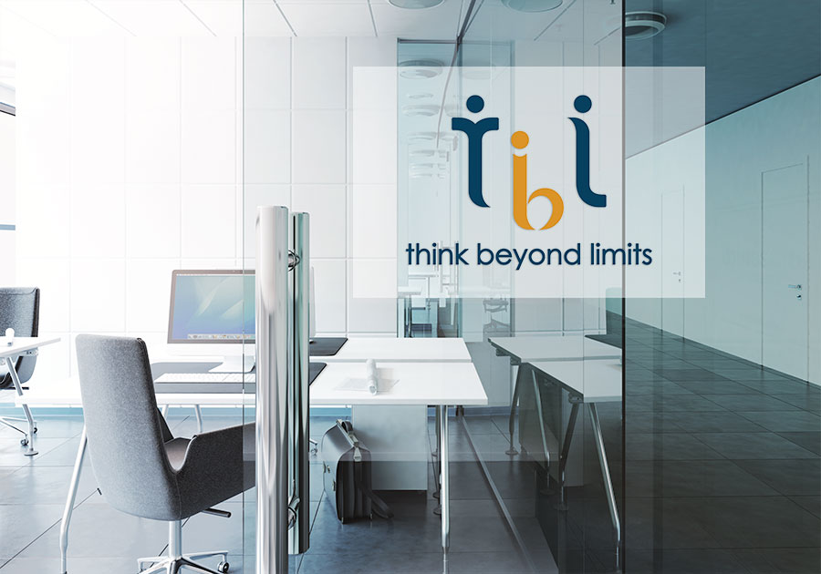thiet ke logo tbl think beyond limits